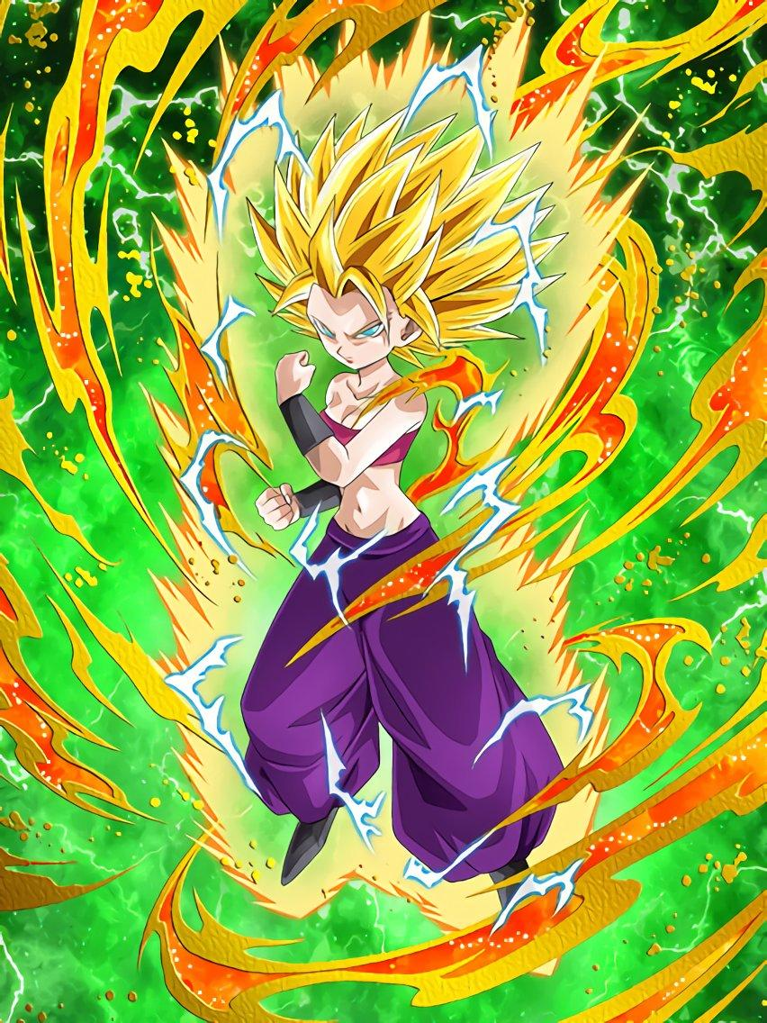 Caulifla Dokkan Battle Dragon Ball Know Your Meme