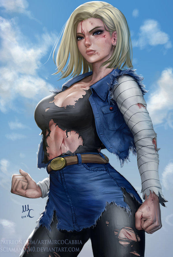 Android 18 By Sciamano240 Dragon Ball Know Your Meme