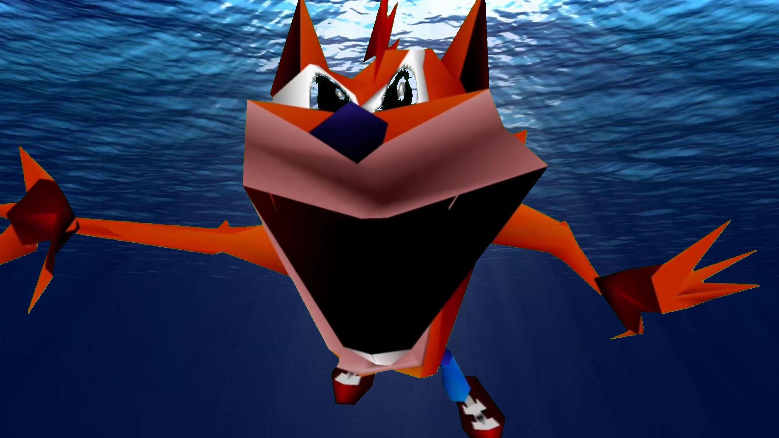 "Woah Underwater | Crash Bandicoot ""Woah"" | Know Your Meme"