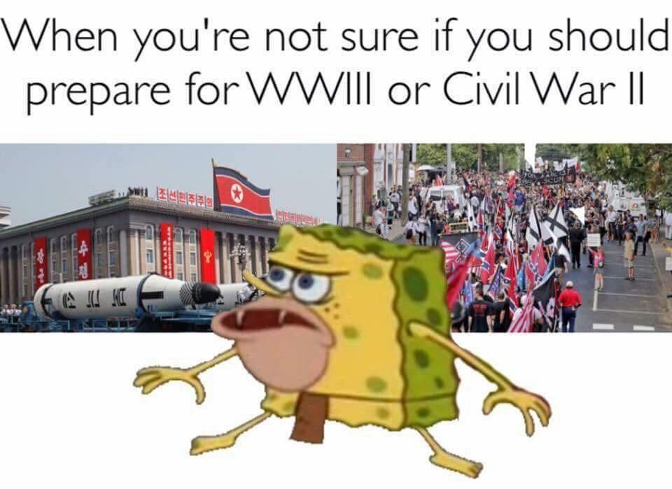 When you 39 re not sure if you should prepare for wwiii or How do you say dab in spanish