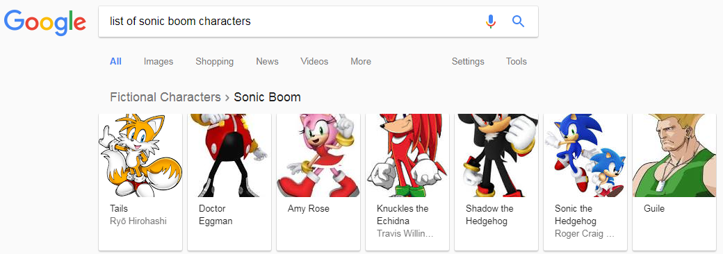 Well, this just happened | Sonic Boom | Know Your Meme
