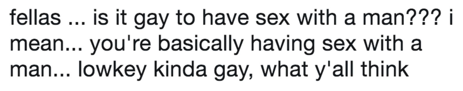 Is it gay