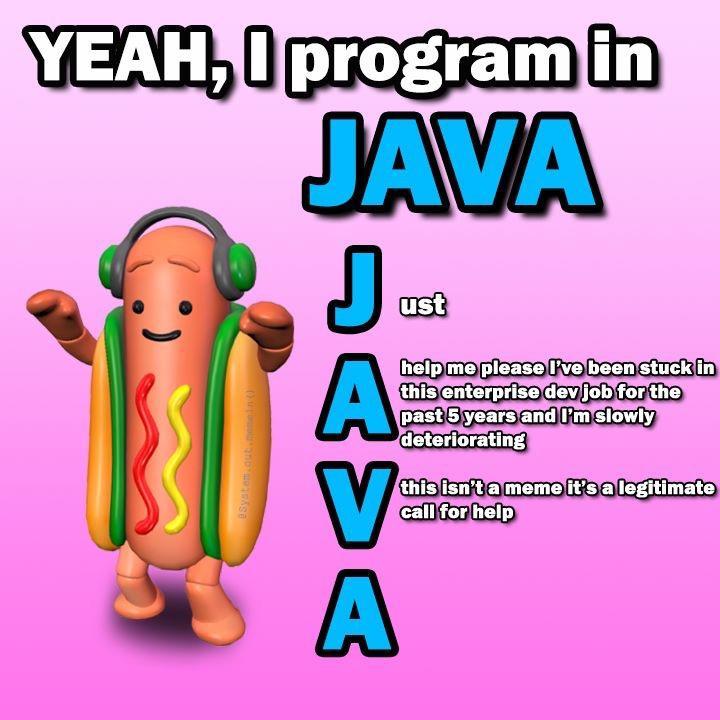 Java sucks though | Ba...