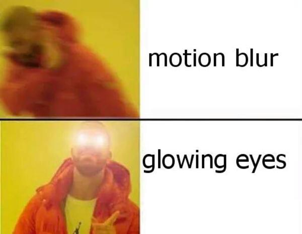 efa glowing eyes know your meme