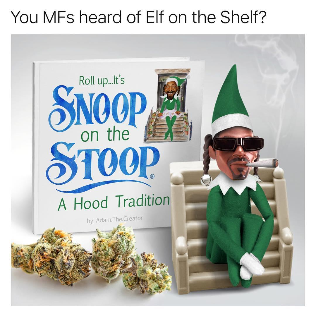 Snoop on the Stoop | You've Heard of the Elf on the Shelf ...