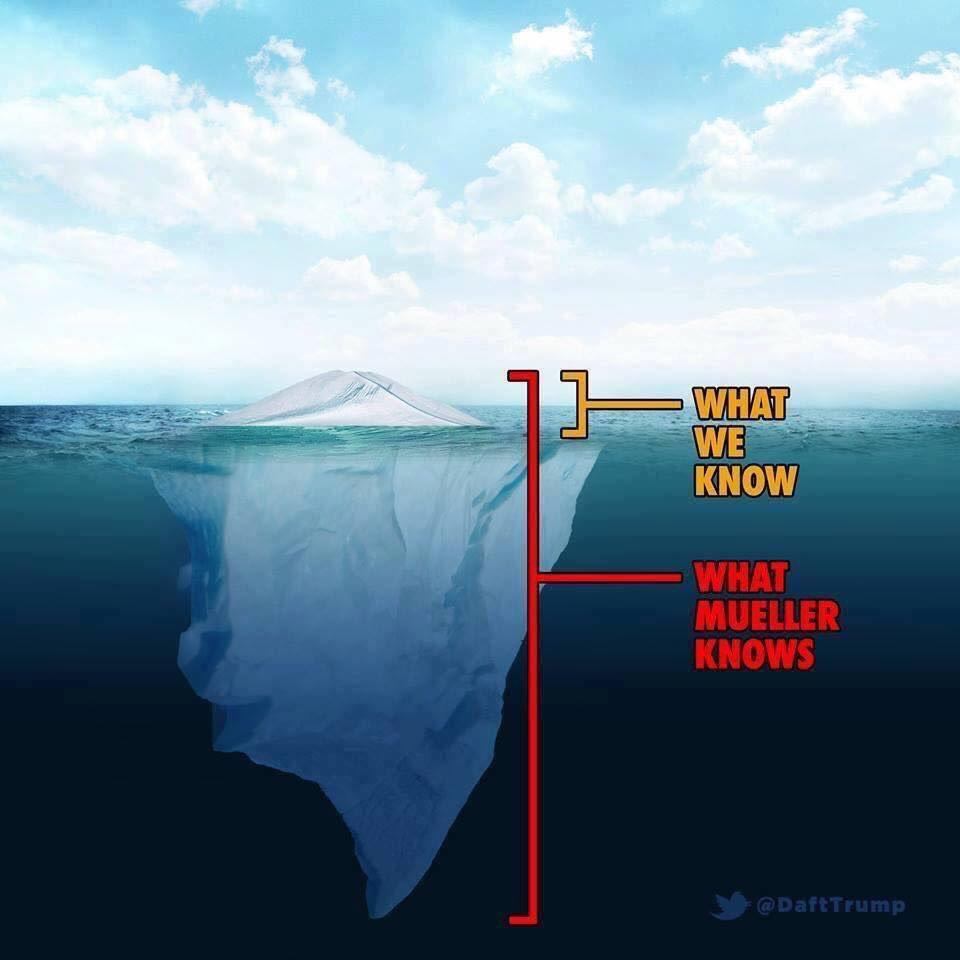 Tip of the iceberg | Russiagate | Know Your Meme