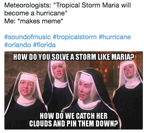 ffb hurricane maria know your meme,Maria Memes