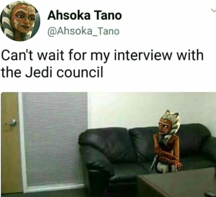Oh Ahsoka The Casting Couch Know Your Meme