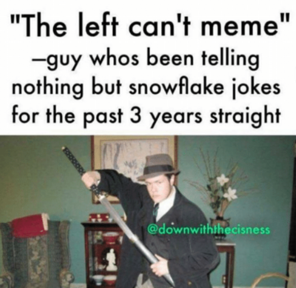 80a the left can't meme know your meme