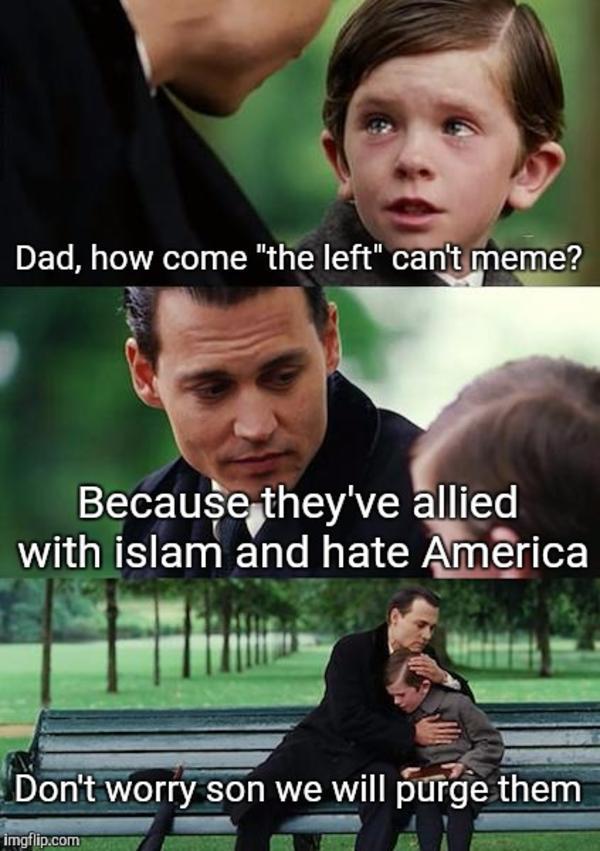 d8e the left can't meme know your meme