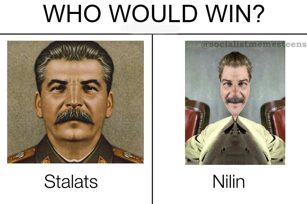 Stalats vs. Nilin | Who Would Win? | Know Your Meme