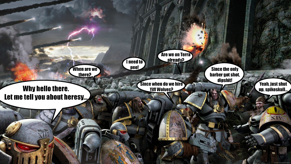 heresy warhammer 40000 know your meme