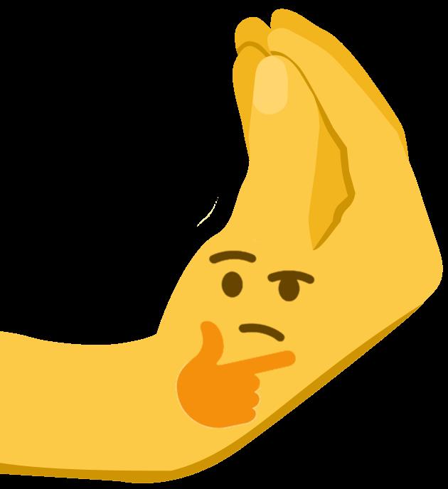 thinking emoji emoji world