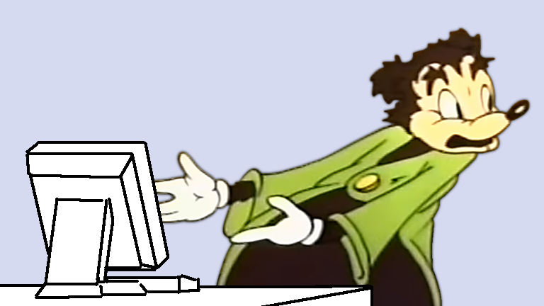 Papa Bear Computer Reaction Somebody Toucha My Spaghet