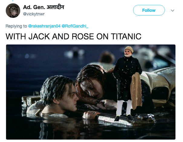 Jack And Rose On The Titanic
