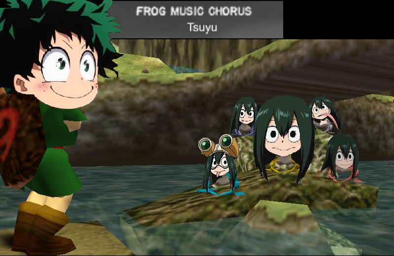 Tsuyu Performs Her Frog Chorus | My Hero Academia | Know Your Meme