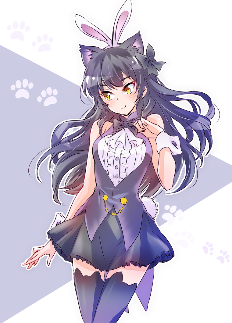 bunny girl blake rwby know your meme