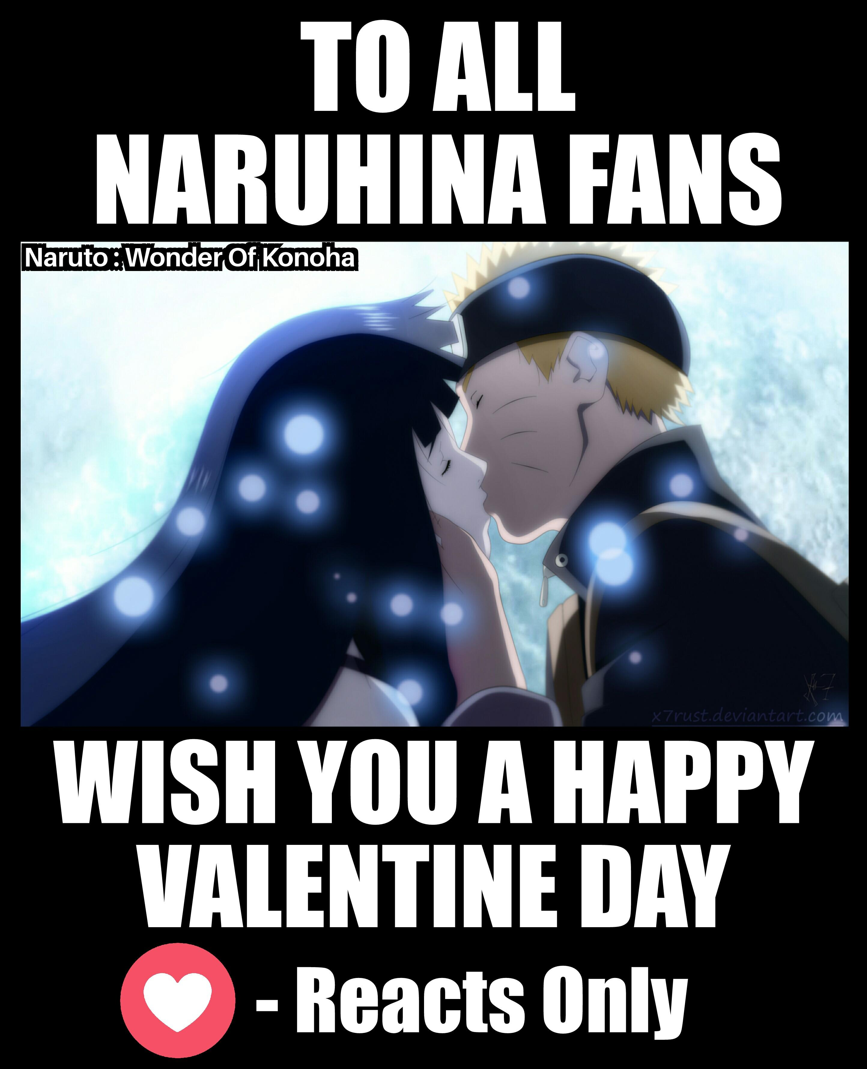 Valentine Day NaruHina Naruto Know Your Meme