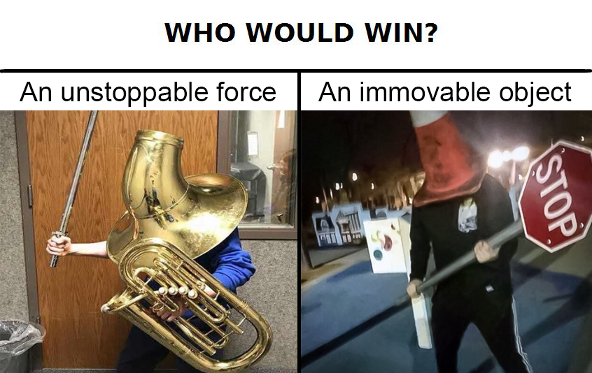 Unstoppable boi VS Immovable boi | Who Would Win? | Know ...