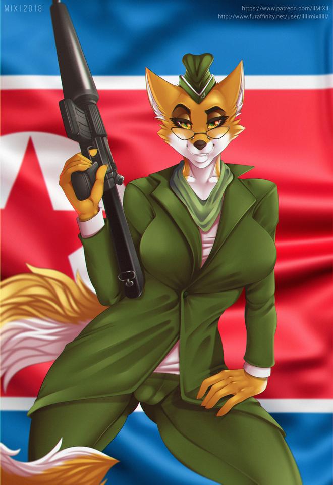 Lt. vixen squirrel and hedgehog