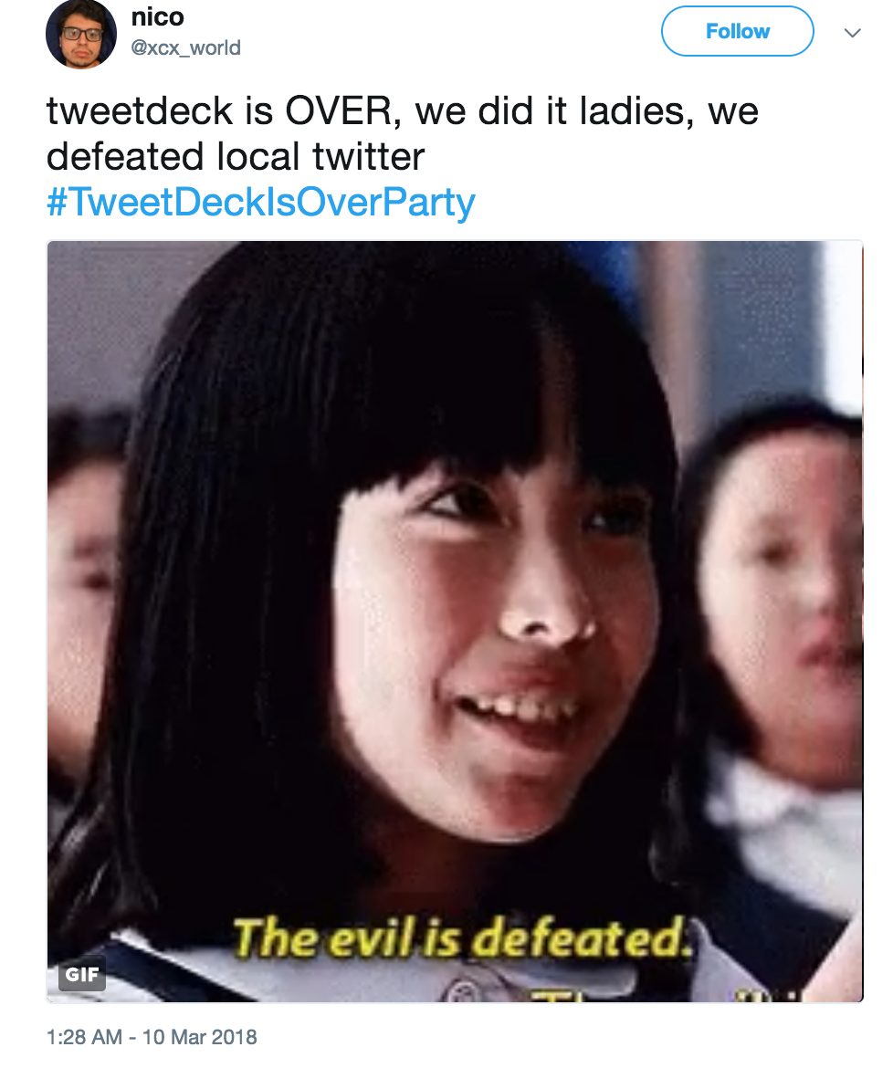Funniest Meme Accounts On Twitter : The evil is defeated twitter know your meme