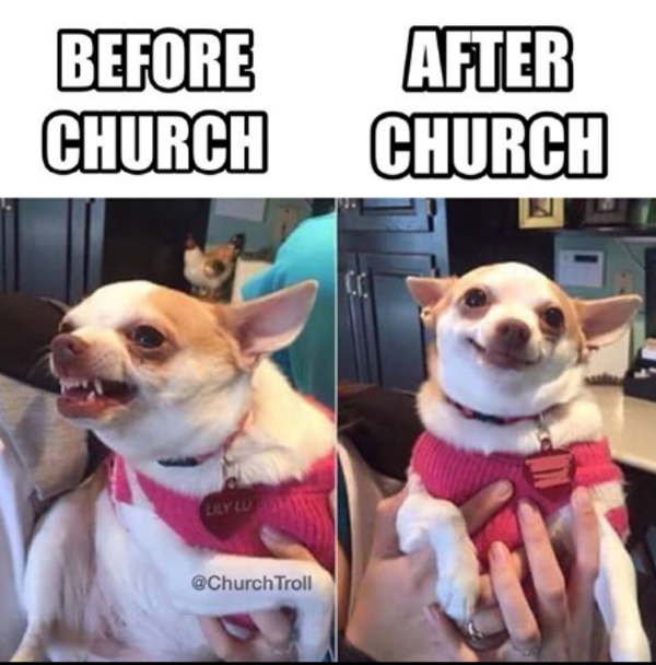 Before Church After Church
