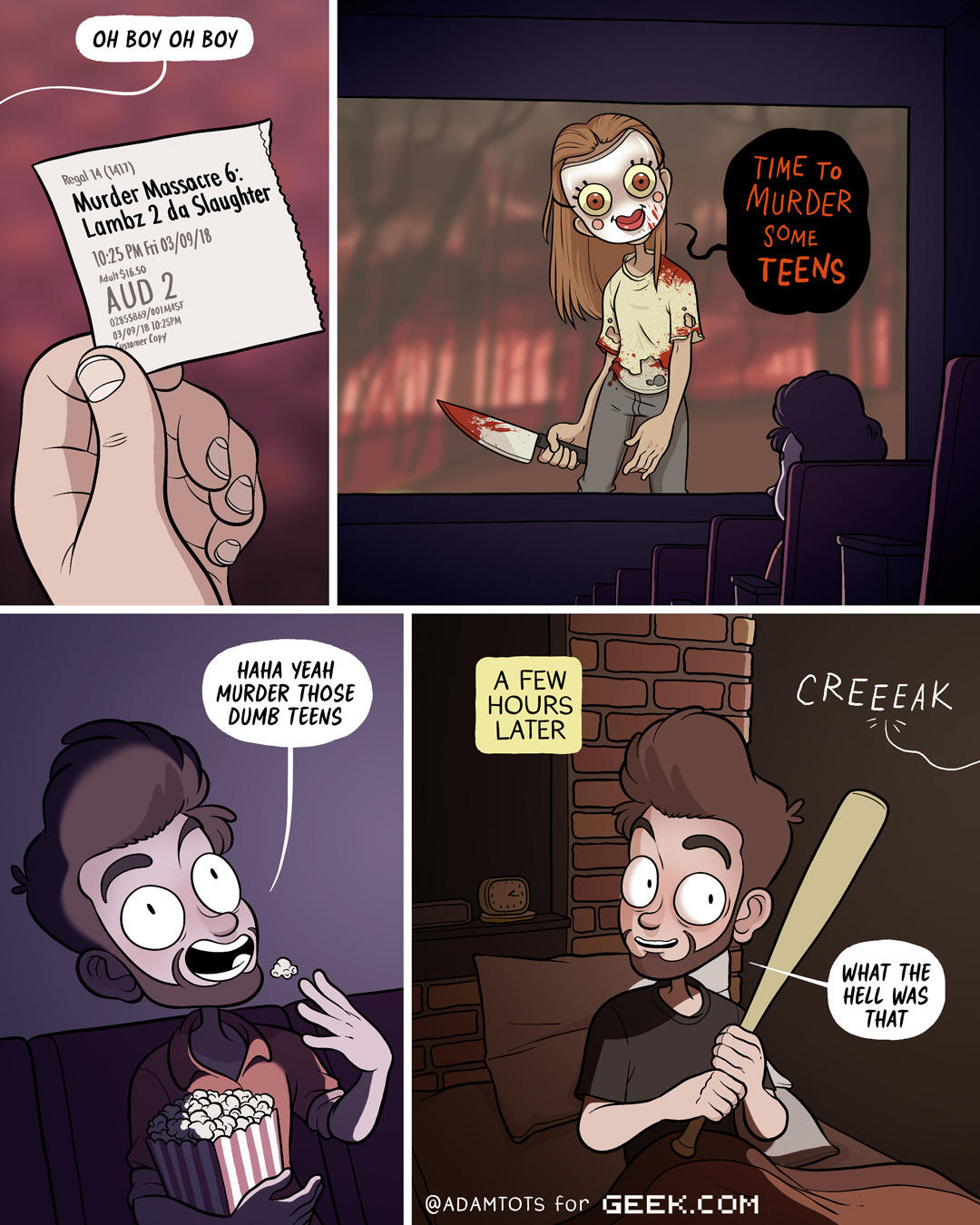 Horror Movies Don't Scare Me