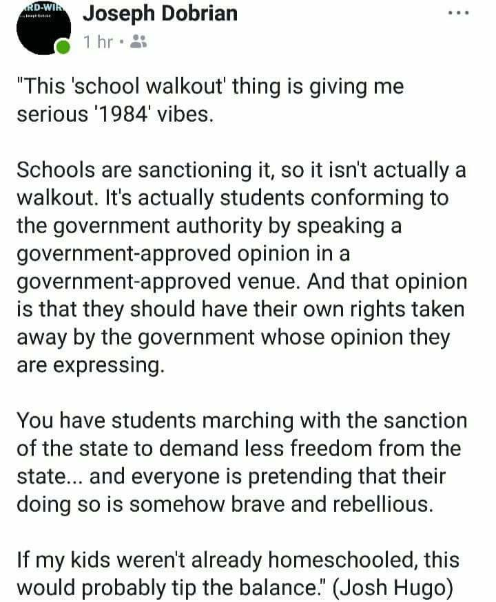 National School Walkout