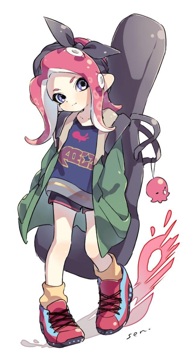 Anime Laws Memes >> Agent 8 in casual wear | Splatoon | Know Your Meme