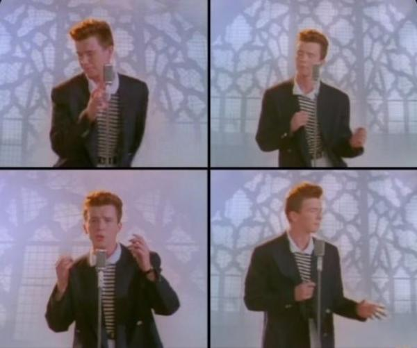 college essay rick roll youtube