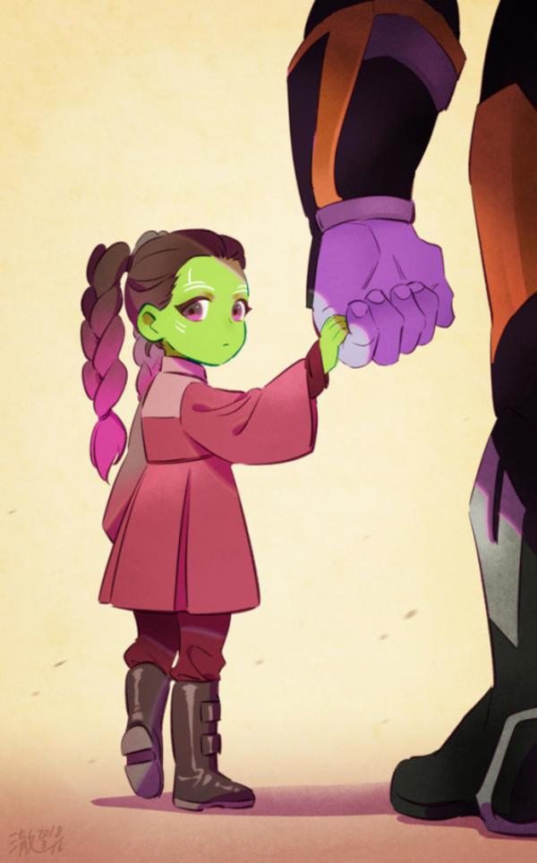 Little Gamora By Cyan Crown Avengers Infinity War