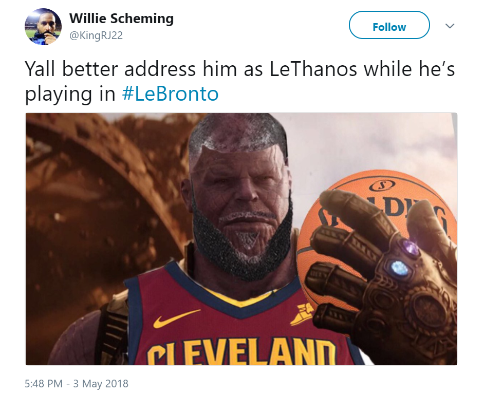 Funnyjunk Know Your Meme : Lethanos lebronto know your meme