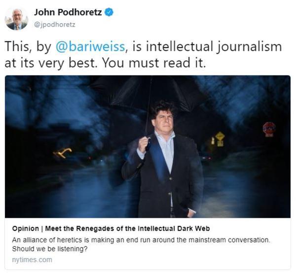 Intellectual Meme: Intellectual Dark Web
