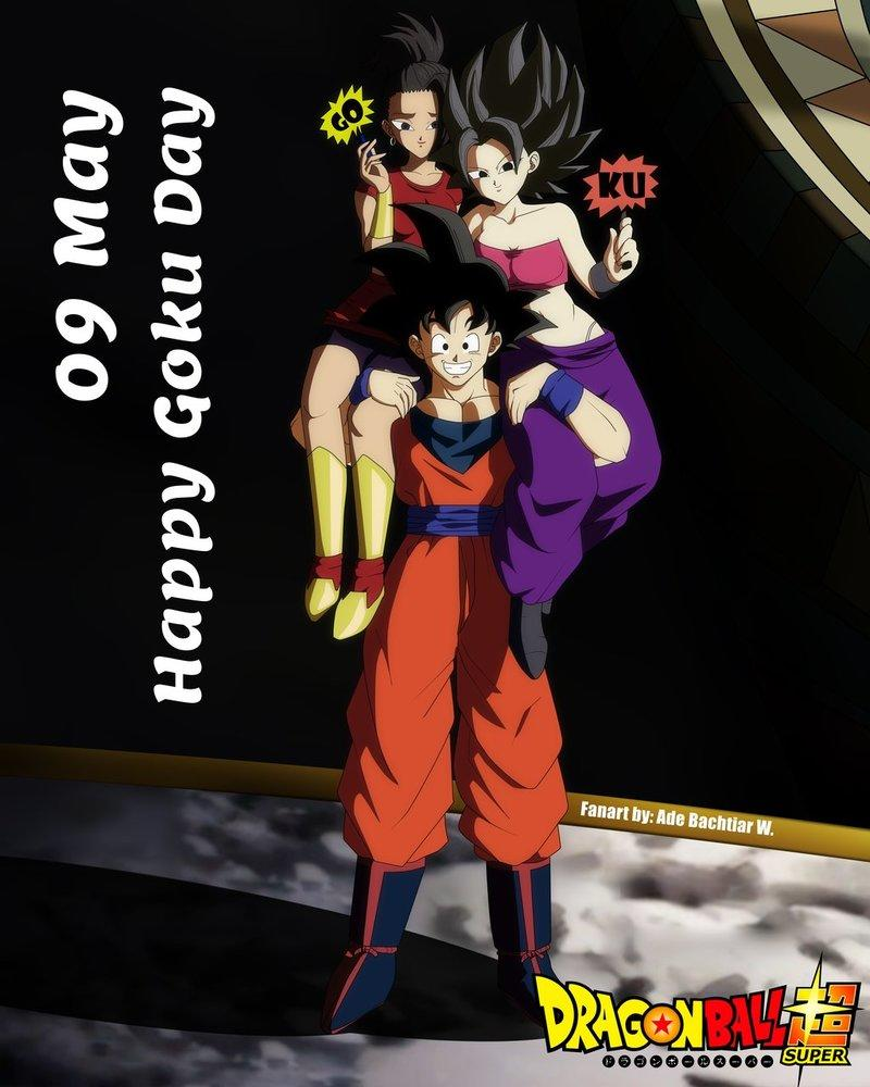 Goku happy