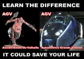 Learn/Know the difference, it could save your life