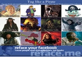 Facebook Tagging Game