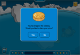 Tipping The Club Penguin Iceberg