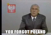 You forgot Poland