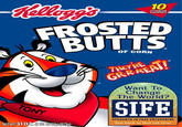 Frosted Butts
