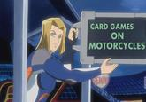 Card Games on Motorcycles!