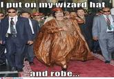 Robe And Wizard Hat