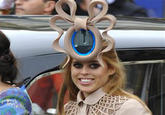 Princess Beatrice Royal Wedding Hat