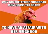 Sheltering Suburban Mom