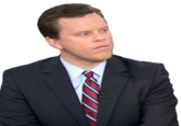 Willie Geist's Disapproving Glare