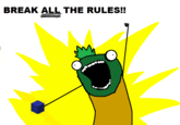 You broke the Rules!!!
