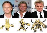 Celebrity Pokemon Evolutions