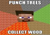 Punching Trees Gives Me Wood