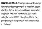 Winner: Dark Souls