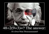 48÷2(9+3) = ?