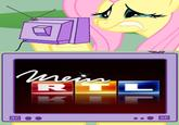 Fluttercry / Characters Watching Tv